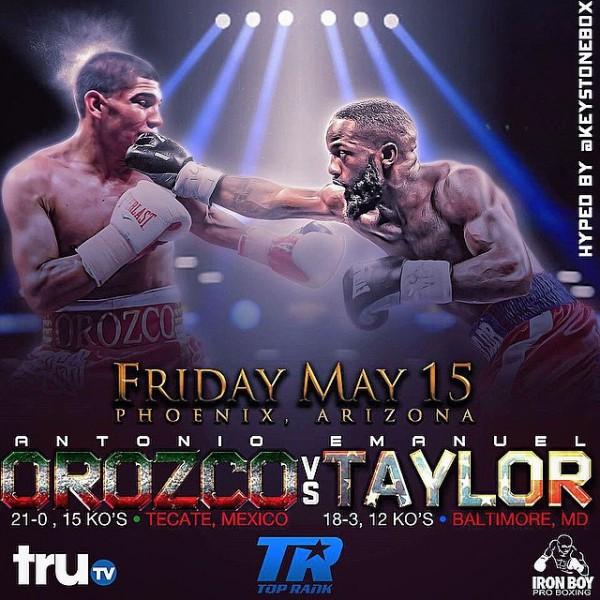 Orozco vs. Taylor - Keystone