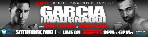 Garcia vs. Malignaggi Banner