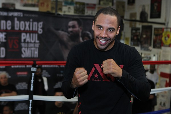 Andre Ward - Paul Smith - Tom Hogan - Hoganphotos Roc Nation Sports