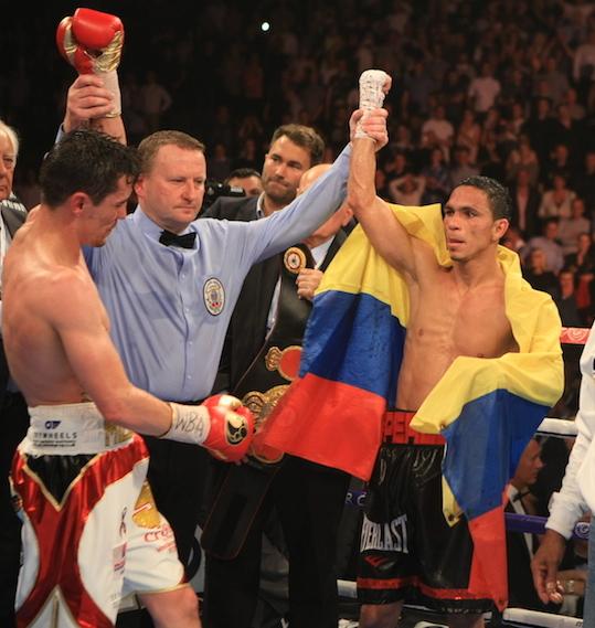 Darlys Perez Anthony Crolla - PHOTO CREDIT MARCO PEREZ BOXEO DE COLOMBIA3