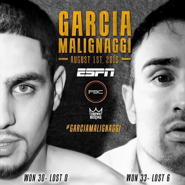 Garcia-Malignaggi - Crown Boxing
