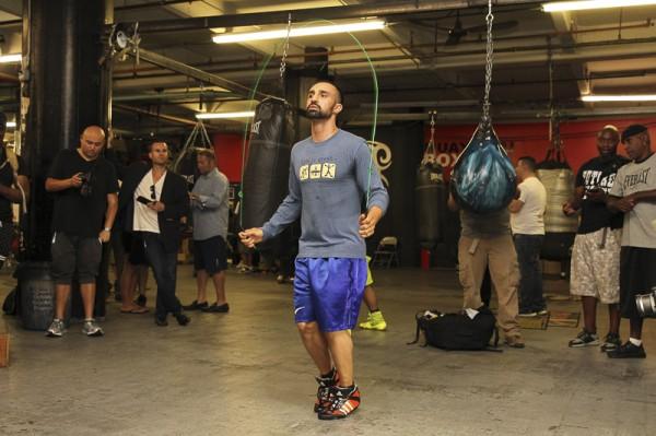 Garcia vs. Malignaggi Media Workouts - Ed Diller DiBella Entertainment (20)