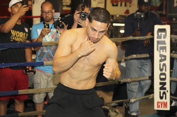 Garcia vs. Malignaggi Media Workouts - Ed Diller DiBella Entertainment (3)