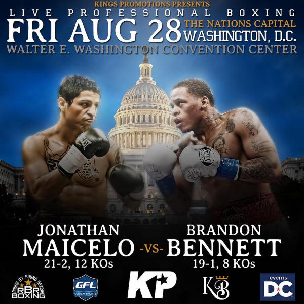 Maicelo vs. Martin - Keystone Boxing