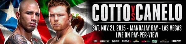 Cotto Canelo Banner