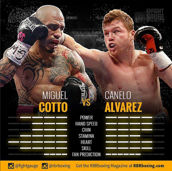 Cotto-Canelo Fight Gauge