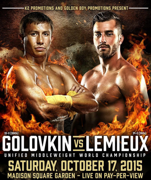 golovkin vs lemieux sets box office record at madison