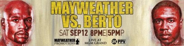 Mayweather Berto Banner