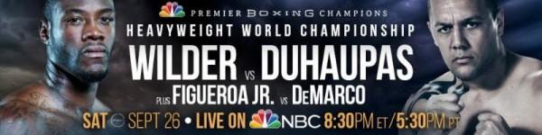 Deontay Wilder vs. Duhaupas