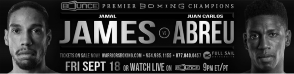 PBC on Bounce James vs. Abreu