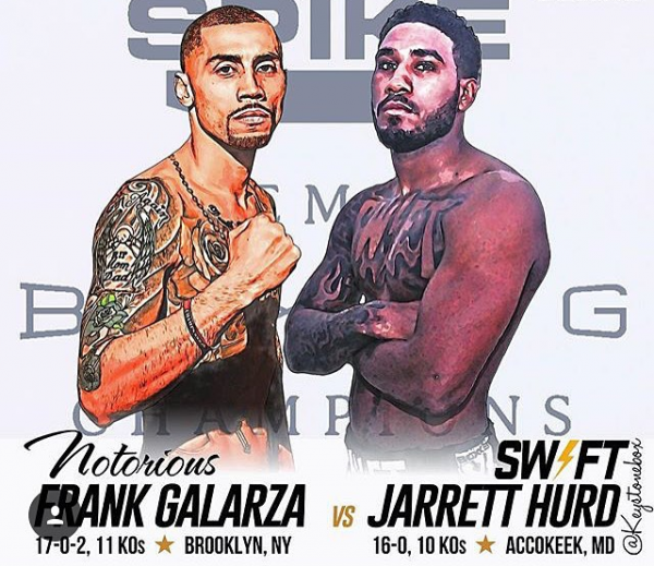 Frank Galarza And Jarrett Hurd Meet November 14 On Showtime