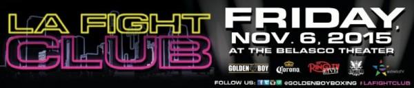 LA Fight Club 11-6 Banner