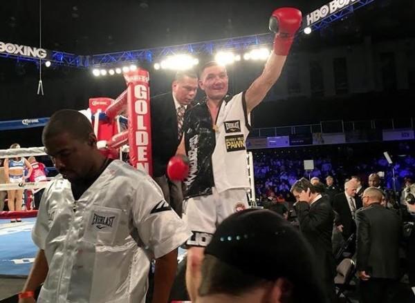 Shabransky Photo by Keystone Boxing