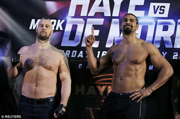 Haye - de Mori weigh in