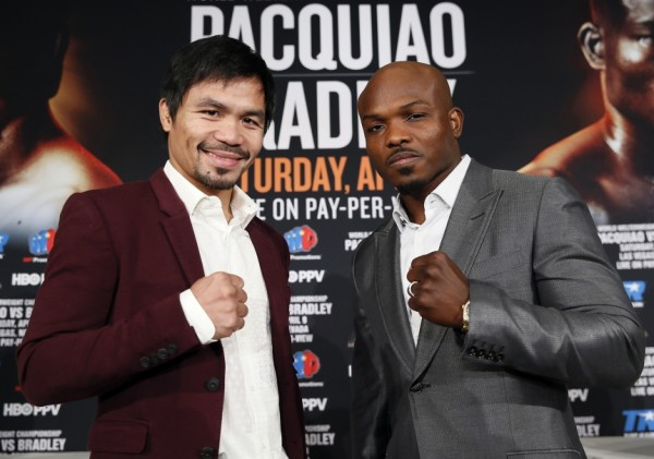 Pacquiao vs. Bradley 3 - Mikey Williams Top Rank20