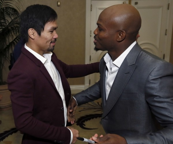 Pacquiao vs. Bradley 3 - Mikey Williams Top Rank5