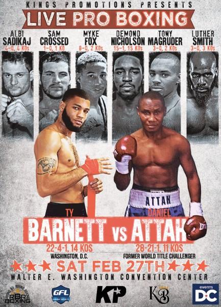 Ty Barnett vs. Daniel Attah - Keystone