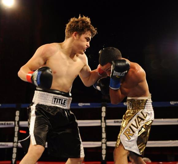 Oscar Duarte Signs With Golden Boy Promotions