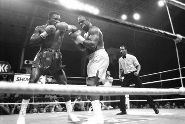Holyfield Dokes - Ring Magazine Getty Images