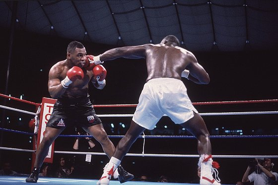 Mike Tyson, 1990 WBC/WBA/IBF Heavyweight Title