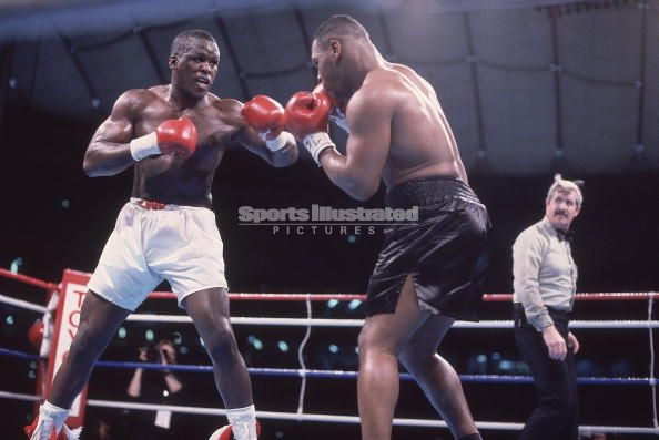 Mike Tyson Buster Douglas - Sports Illustrated Photo