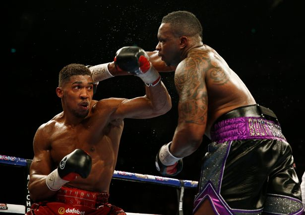 Anthony-Joshua-and-Dillian-Whyte - Action images