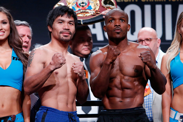 Pacquiao Bradley Weigh In - Will Hart