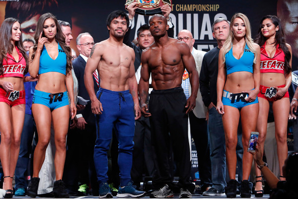 Pacquiao Bradley Weigh In - Will Hart2
