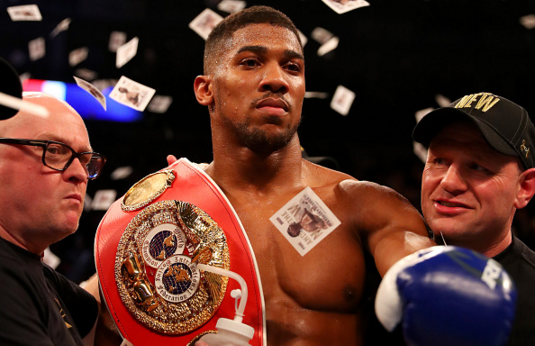 Richard Heathcote Anthony Joshua Getty Images