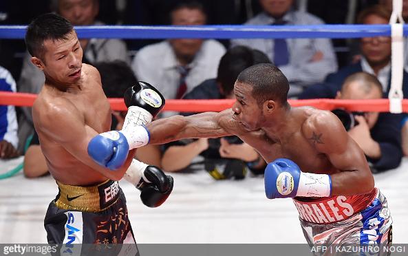 Takashi Uchiyama vs. Jezreel Corrales Getty Images