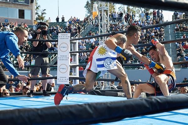 Stub hub, Carson, CA April 30 2016 Premier Boxing Champions