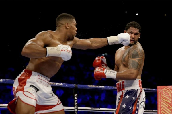 Anthony Joshua AP Photo Matt Dunham