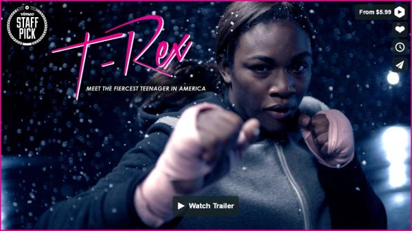 Claressa Shields Documentary - T-Rex