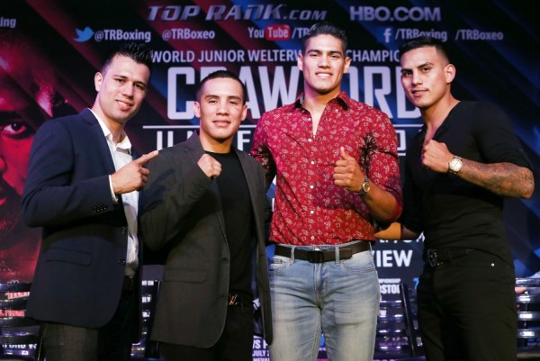 Crawford vs. Postol Undercard Presser - Mikey Williams Top Rank