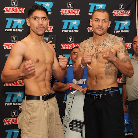 Mike Alvarado vs. Josh Torres Weigh In - Porfirio Barron Jr. RBRBoxing.JPGIMG_7493