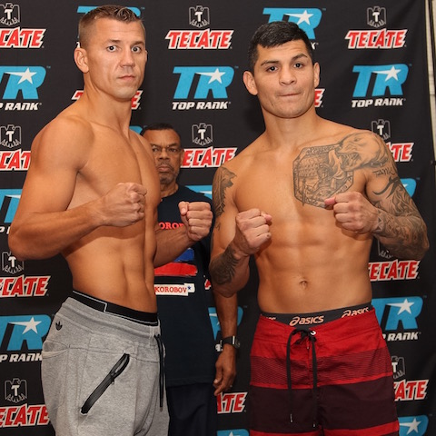 Mike Alvarado vs. Josh Torres Weigh In - Porfirio Barron Jr. RBRBoxing.JPGIMG_7496