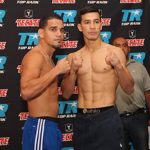 Mike Alvarado vs. Josh Torres Weigh In - Porfirio Barron Jr. RBRBoxing.JPGIMG_7498