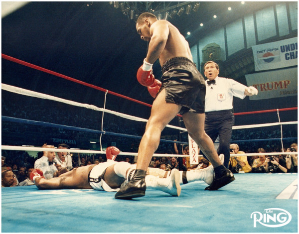 Mike Tyson vs. Michael Spinks - Ring Magazine