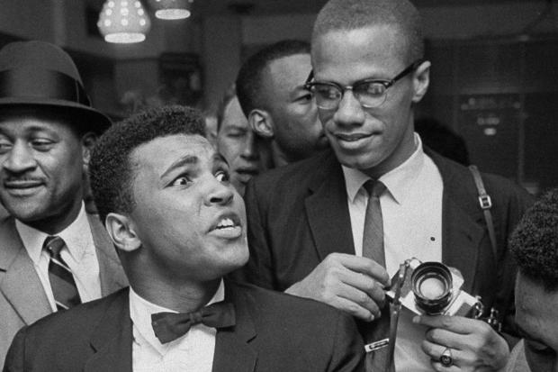 Muhammad Ali Malcolm X - Bob Gomel Getty Imags