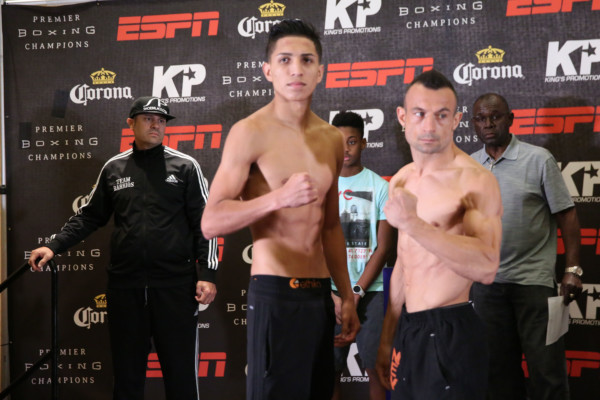 Barrios vs Boschiero - Weigh In_Weigh-in_Dave Nadkarni _ Premier Boxing Champions1