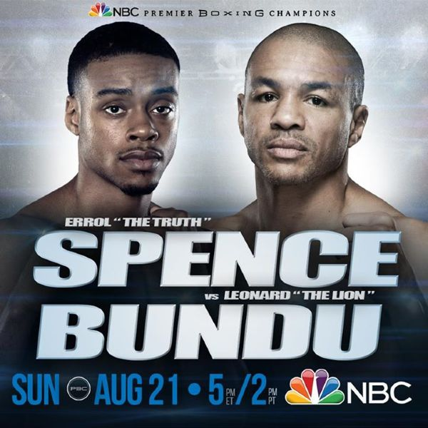 Errol Spence Leonard Bundu