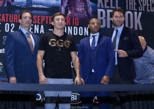 Gennady Golovkin vs. Kell Brook - Marilyn Paulino/RBRBoxing