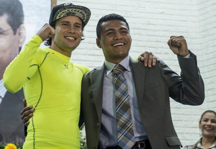 Roman Gonzalez vs. Carlos Cuadras - WBC