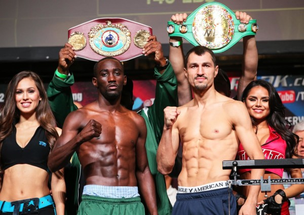Terence Crawford vs. Viktor Postol Weigh in - Mikey Williams Top Rank (11)