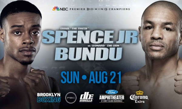 Errol Spence vs. Leonard Bundu