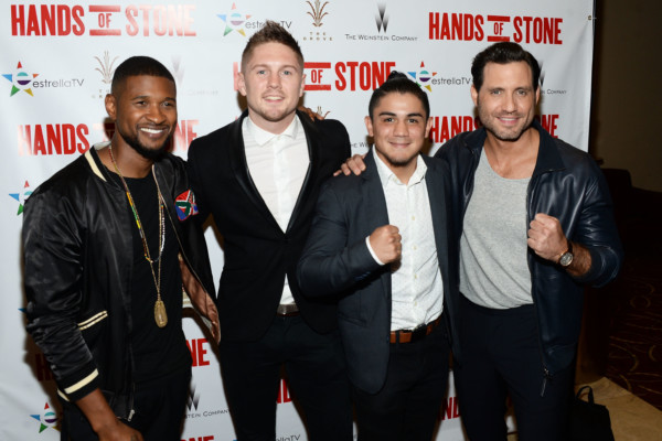 Hands of Stone Movie Premier