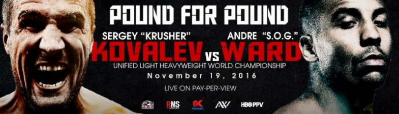 Kovalev vs. Ward Banner