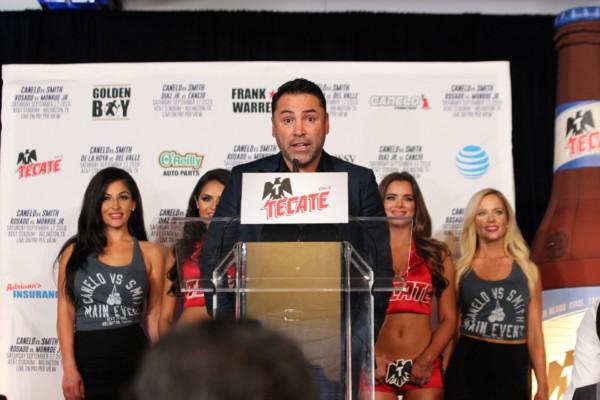 Oscar De La Hoya - Jr. Barron RBRBoxing