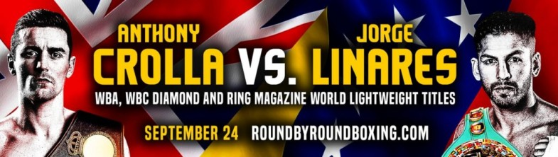 Crolla vs. Linares Banner