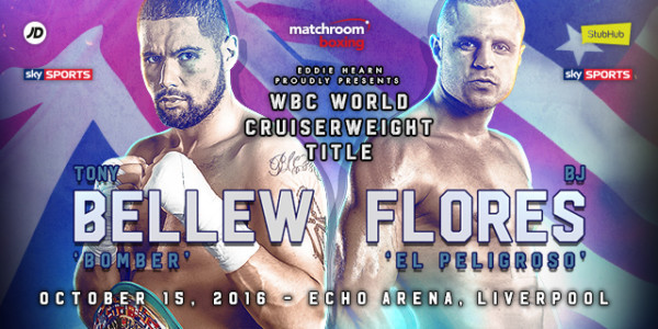 Tony Bellew vs. BJ Flores